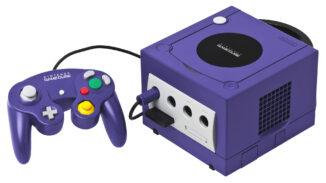 Purple Nintendo Gamecube