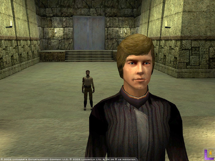 Luke Skywalker in Star Wars Jedi Knight II: Jedi Outcast