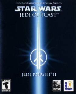 Star Wars Jedi Knight II: Jedi Outcast box art