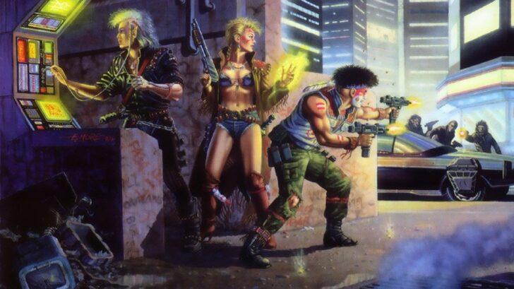 Shadowrun art Sega Genesis