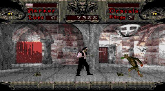 Bram Stoker's Dracula on the Sega CD