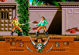 Pirates! Gold for the Sega Genesis