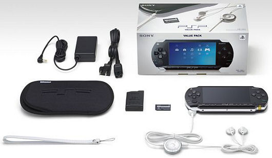The Sony PSP Value Pack bundle