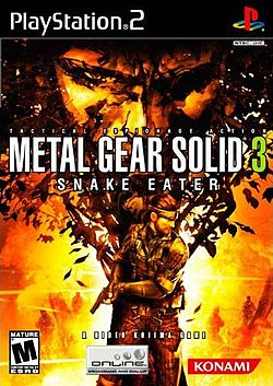 Metal Gear Solid 3: Snake Eater for the Playstation 2