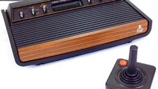 Atari 2600 console 6-switch