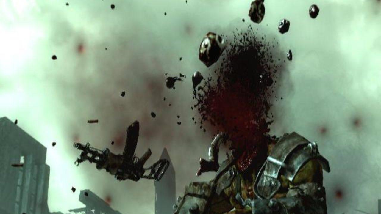 Videogame headshot