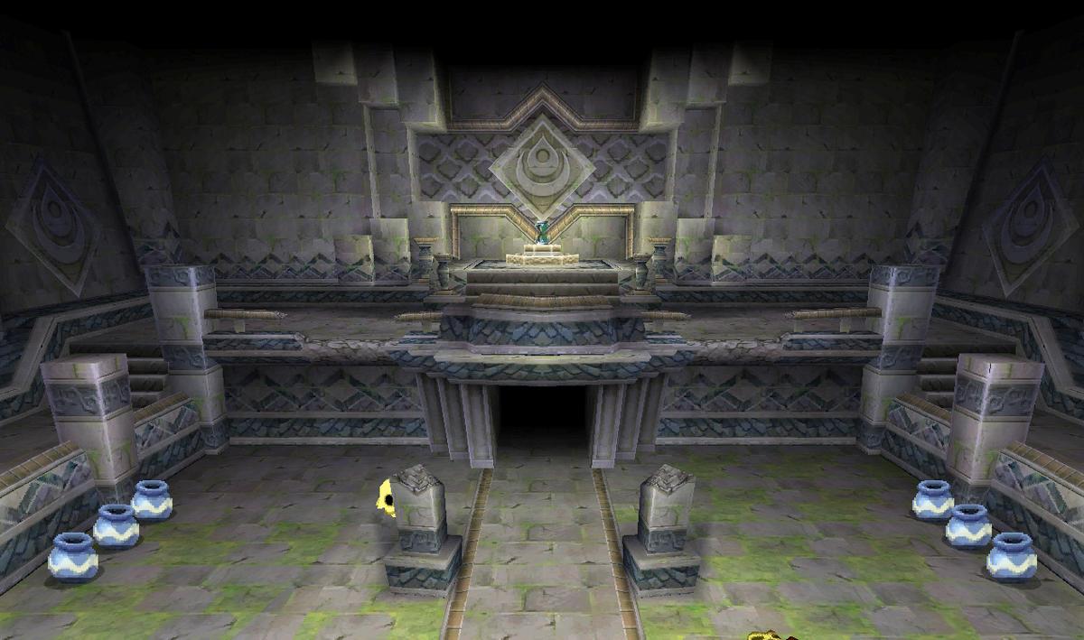 Temple of the Ocean King -- Zelda