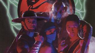 Mortal Kombat II flyer