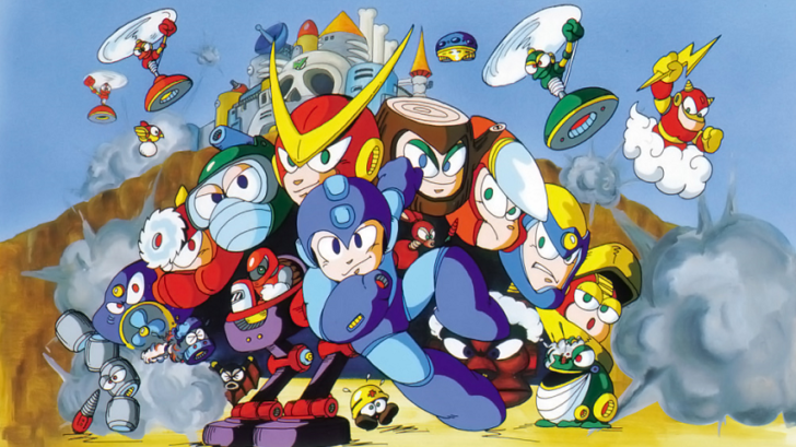 Mega Man 2 art