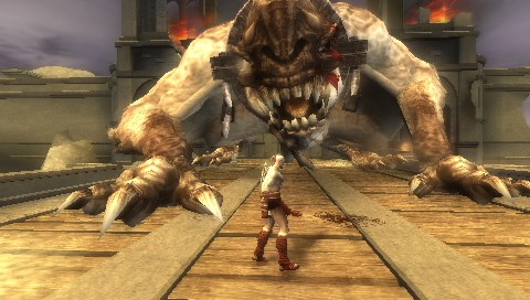 God of War: Chains of Olympus for PSP