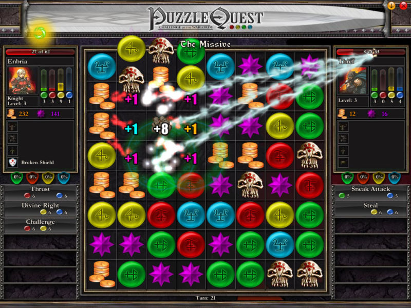 Puzzle Quest: Challenge of the Warlords for Xbox 360