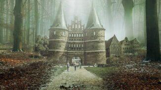 Fantasy castle art
