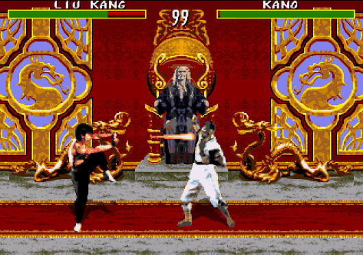 Mortal Kombat on the Sega Genesis