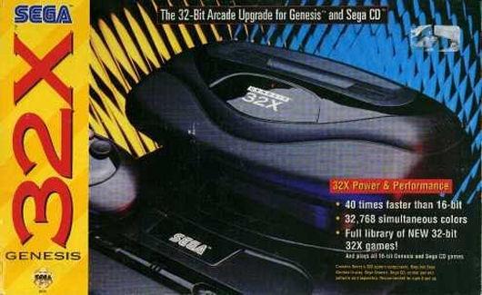 Sega 32X system retail box