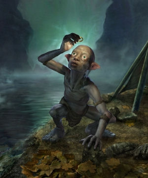 Gollum in The Lord of the Rings Online