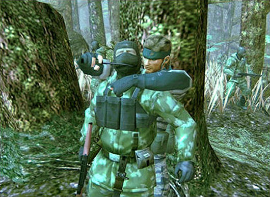 Metal Gear Solid 3: Now, what was that crack you made about me 'eating the snake'?