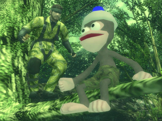 Metal Gear Solid 3: Snake Eater Ape Escape
