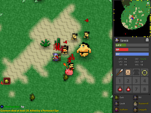 Realm of the Mad God MMO