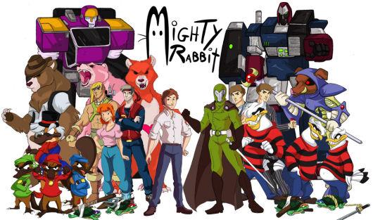 Saturday Morning RPG characters