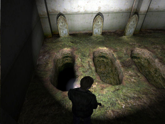 Silent Hill 2 graves
