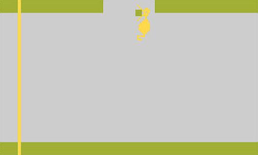 A dragon in Adventure for the Atari 2600
