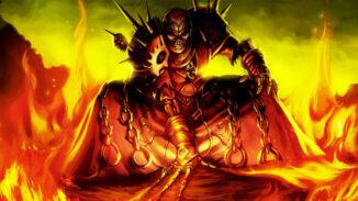 World of Warcraft Destruction Warlock Art