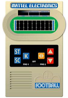 Mattel Electronics Classic Football Handheld