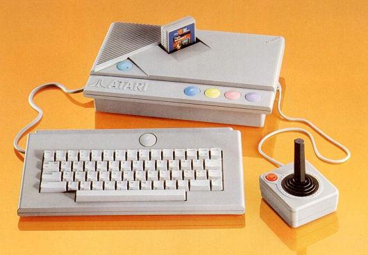 The Atari XE computer system