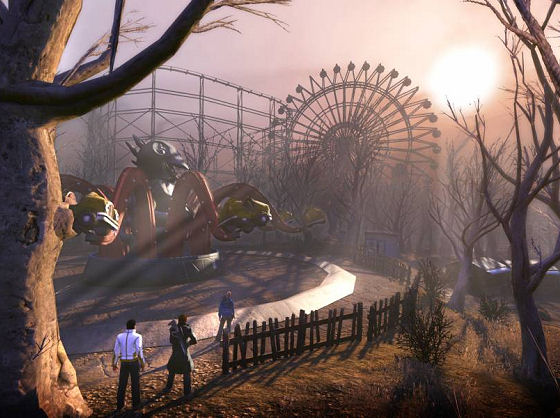 Abandoned amusement park in The Secret World