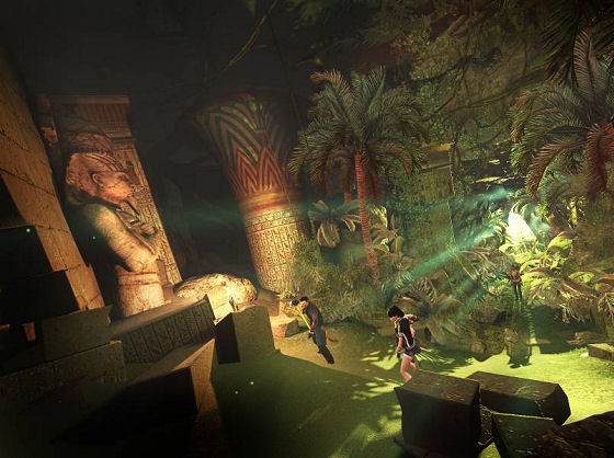 Egypt stage in The Secret World