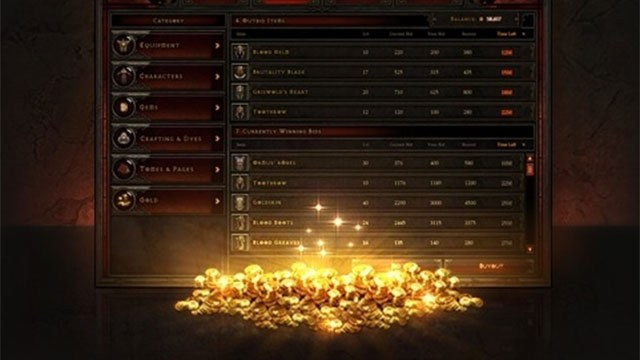 Diablo III Real Money Auction House