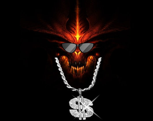 Diablo III is all about the money