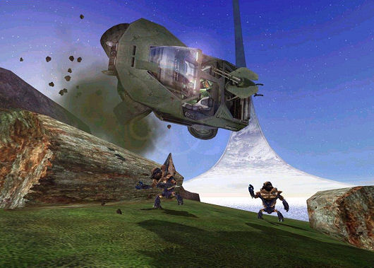 Halo: Combat Evolved -- Warthog