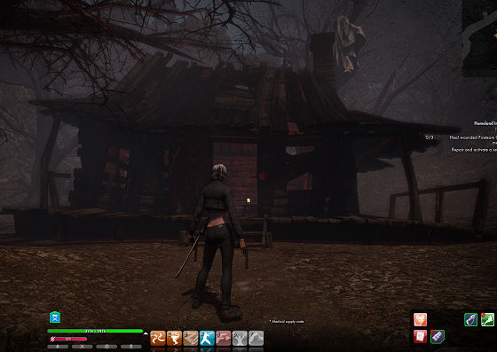 Evil Dead cabin in The Secret World