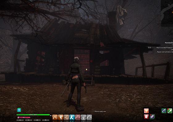 Evil Dead cabin in The Secret World