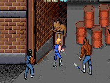 Mr. T in Double Dragon