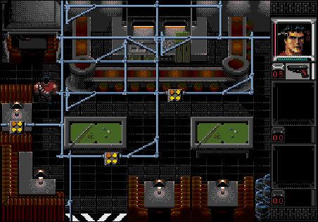 Shadowrun on the Sega Genesis