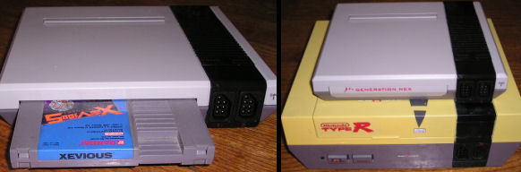Generation Nex NES console size