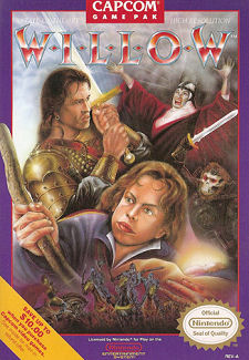 Willow box art for the NES