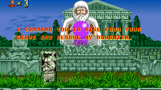 Altered Beast Rise From Your Grave