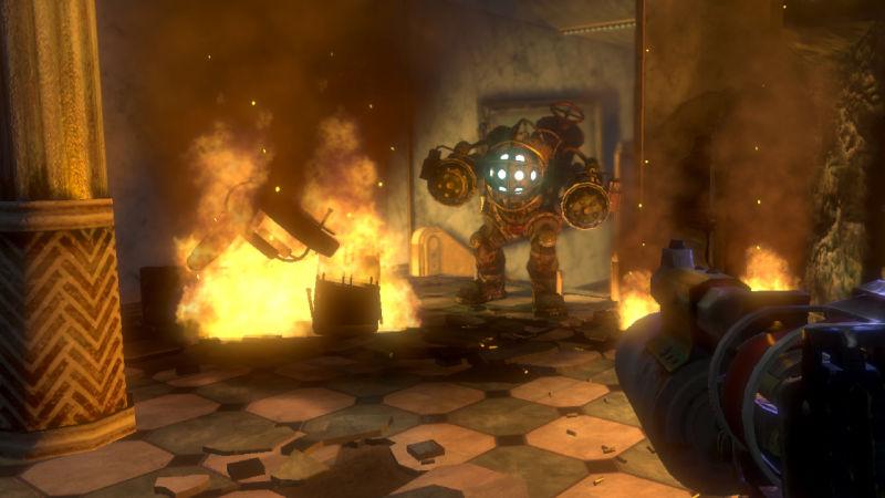 Big Daddy in Bioshock