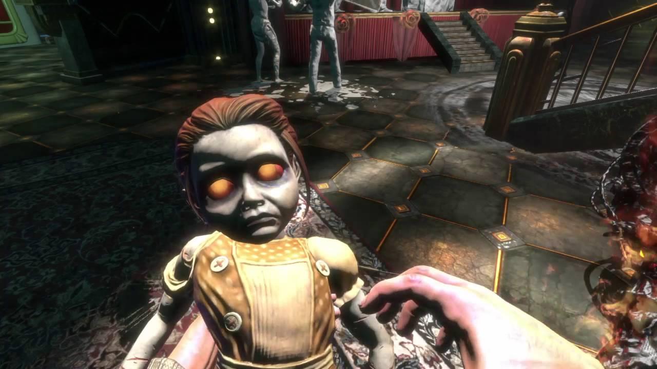 Little Sister in Bioshock