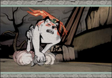 Okami for the PS2