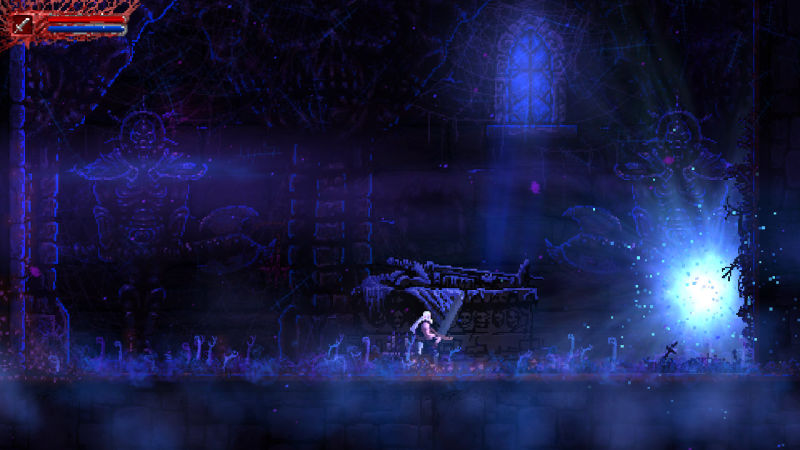 Slain: Back From Hell screenshot - tomb intro