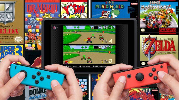 Super Nintendo games on Switch Online