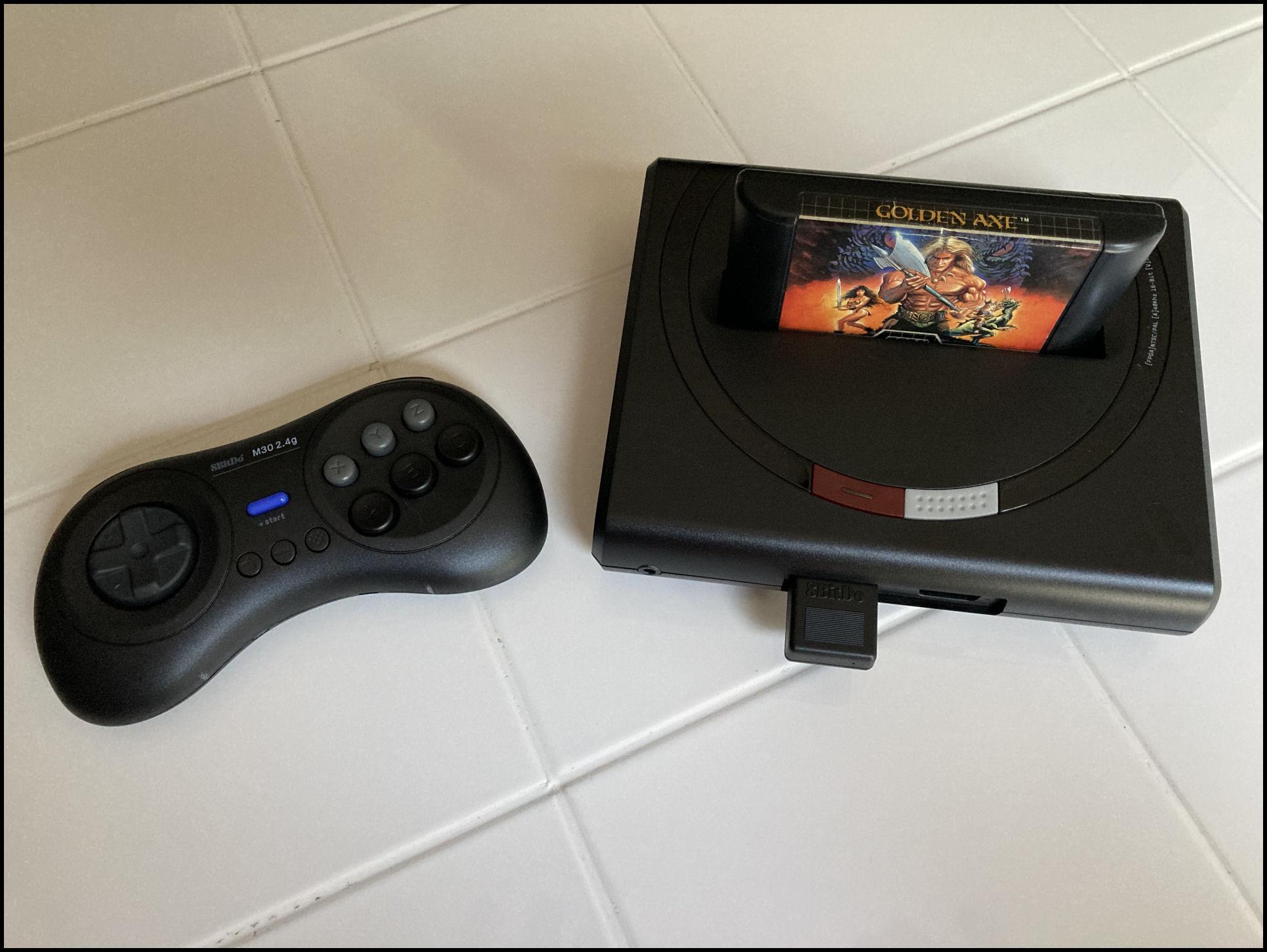 Analogue Mega SG with 8BitDo controller